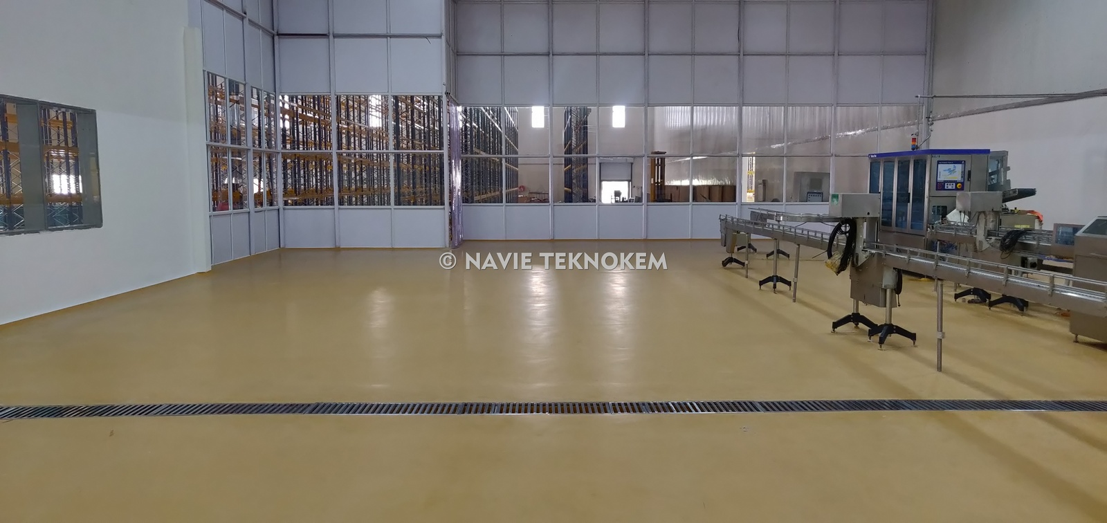 PU Flooring - Food Processing Unit